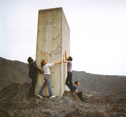 An unused photo from the Who's Next album cover shoot