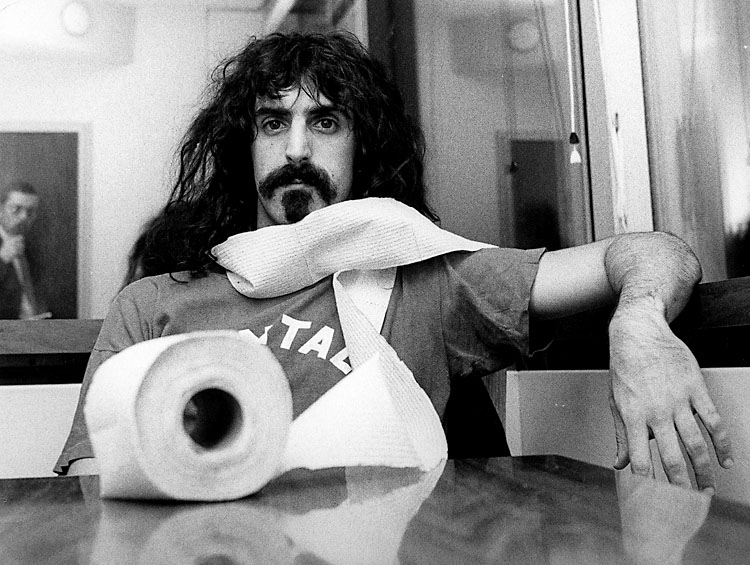 Did frank zappa actually like music 187 rock town hall rock music