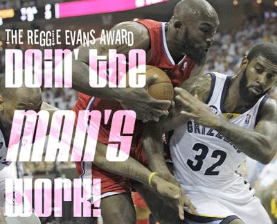 The Reggie Evans Award
