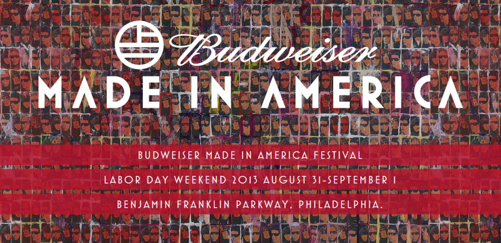 Hey Bud, why are the Velvet Underground used as the background for this festival's ad campaign?