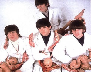 beatles butcher album cover session