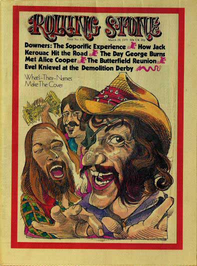 When the cover of Rolling Stone meant something, man...