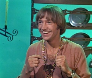 Peter Tork, late-period Monkees persona.