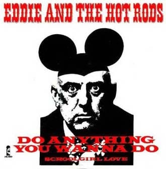 (NOTE TO JIMMY PAGE: Don't think we put the Mickey Mouse ears on Aleister Crowley!)