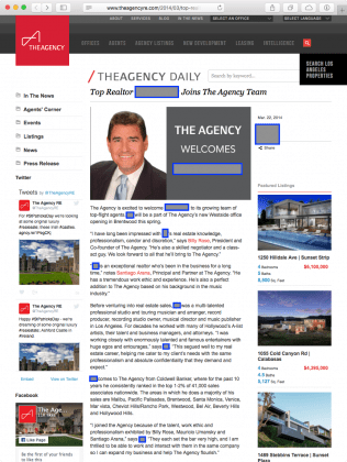 Who *is* this real estate agent?!